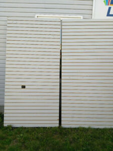 4 x 8 slat wall