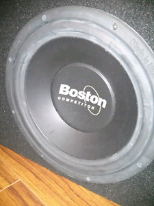 Car SubWoofer Boston Accoustics and Alphine amp  for sale