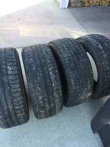 Barely used winter tires size 275/55 R 20