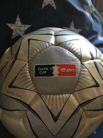 FA Cup signed football