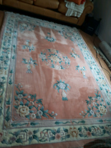 Pure wool carpet paid $1200.00
