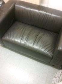 Sofa 2 seater leather