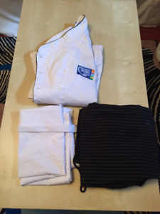 Ladies George Brown Chefs Uniform