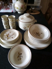 Royal doulton wild cherry dinner set.