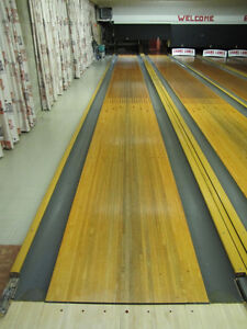 Salvage Wood From Bowling Alley