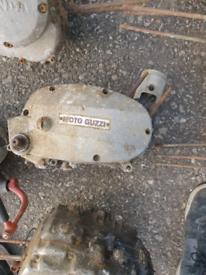 Moto guzzi engine rare vintage barn find