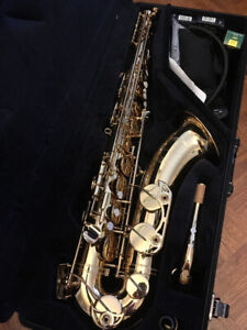 Professional YTS-62III Tenor Saxophone in gold lacquer