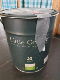 10 litres of Little Greene Portland Stone. Paint At a very reduced price.