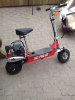 Gas powered scooter 2 stroke