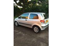 Hyundai Getz 1.3 petrol 2004 10 months mot