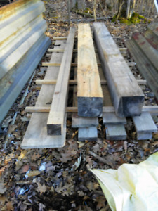 White Pine and Red Oak Lumber
