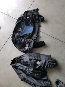 Motorcycle jacket with liner XL