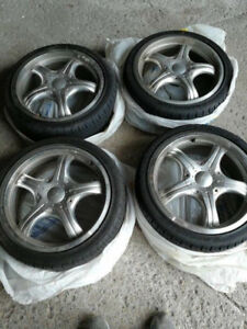 16 inch Rims & Tires (Low Profile) - Used Only 1 Season!