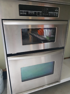 KitchenAid Suberba stainless steel microwave oven combo unit wow
