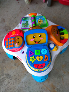 Fisher price laugh and learn table for $15