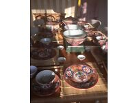 8 place setting Chinese Banquet set plus many extras.