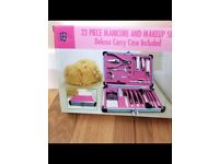 manicure and makeup BNIB