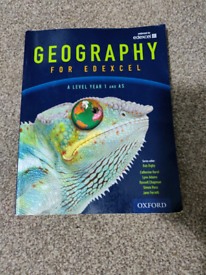 Geography Edexcel A level year 1 student book