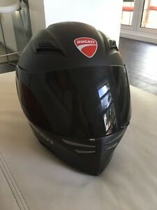 MATTE black Ducati helmet for sale