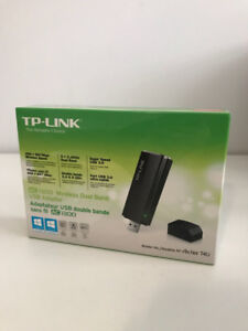 TP-Link Archer T4U AC1200 Wireless Dual Band USB Adapter wI-fI