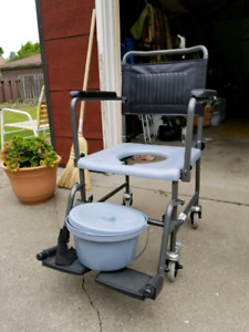 Wheelchair for bathroom assistance for sale