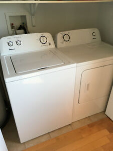 Amana Laveuse/Secheuse - Washer/dryer, perfect condition!