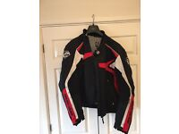 Arlen Ness textile motorbike jacket - COLLECTION ONLY