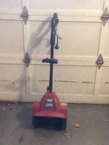 Snow blower toro electric