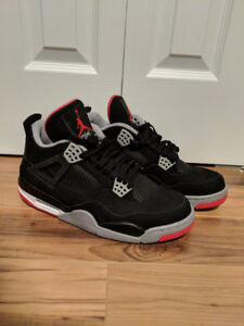 RETRO Air Jordan 4 (2012 Release) - Black/Red SZ. 11