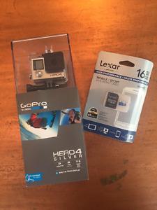 GoPro Hero 4 Silver NEW IN BOX