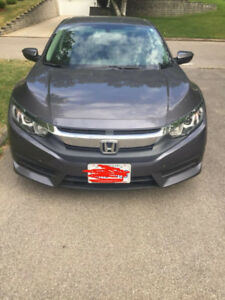 back to home country sale, 2016 Honda Civic LX Sedan, $15000