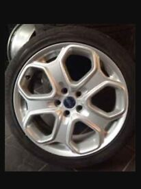 Ford st 18 inch alloy wheels