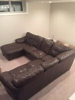 Large Comfy Sectional for sale
