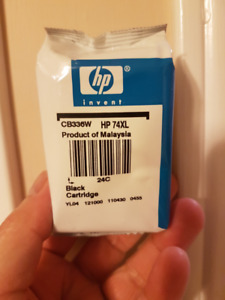 Hewlett Packard HP 74XL inkjet cartridge