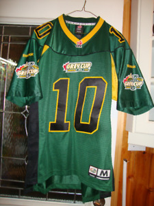 Signed Grey Cup 2010 Jersey - Size Medium