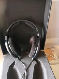 Sennheiser mass drop 6xx headphones and valve amp