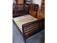 5ft king size sleigh bed