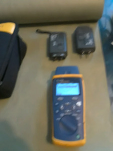 FLUKE NETWORKS CABLE IQ QUALIFICATION TESTER & ALL ACCESSORIES