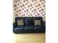 Blake leather sofa 3+2 seater