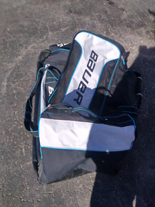 Almost new bauer goalie bag