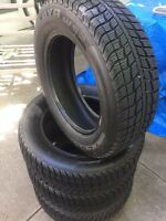 Set of four 205/60/16 winter tires