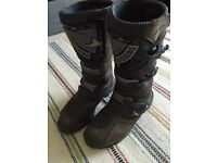 Motorcycle boots size 11.