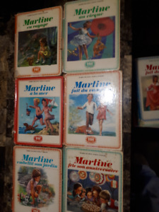 collection 18 livres Martine