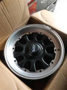 "NEW! 17"" 6X139.7 -6 ALLOY RIMS"
