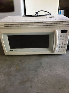 Over the Range Kenmore Microwave
