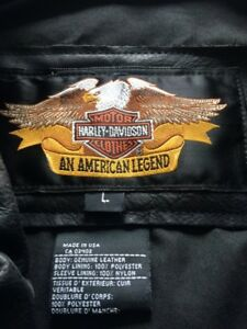 Harley Davidson leather bike jacket