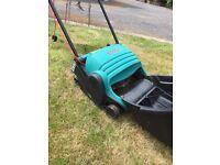 Bosch electric raker/scarifier & box