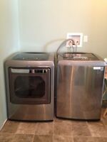 Barely Used Washer and Dryer