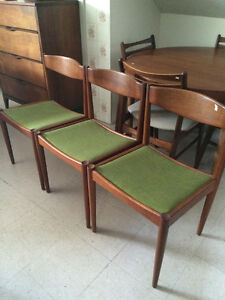 Mid-Century Teak Dining Tables and Chairs - Tribute 20th