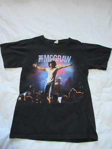Excellent pre-owned small t-shirts $5 each McGraw, 1D, Dylan